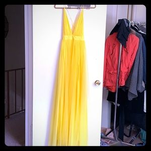 Sun Yellow Gown